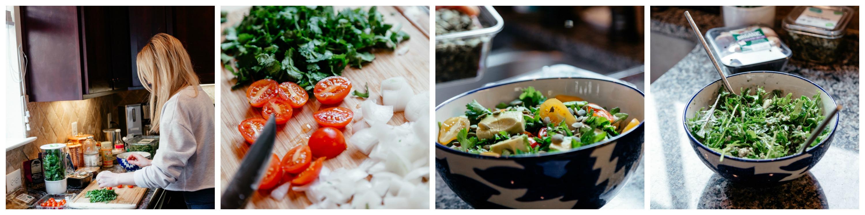 quinoa kale salad dinner recipe for 2
