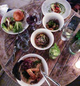 venice los Angeles california vegan restaurant review pant food + wine