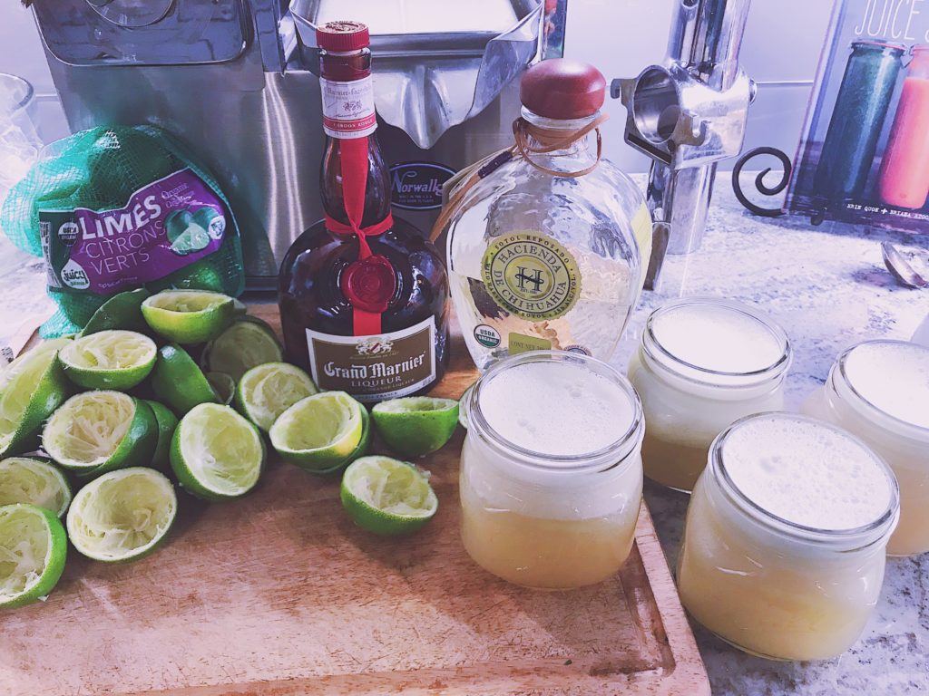 Mom's Recipe for Organic Mason Jar Margaritas