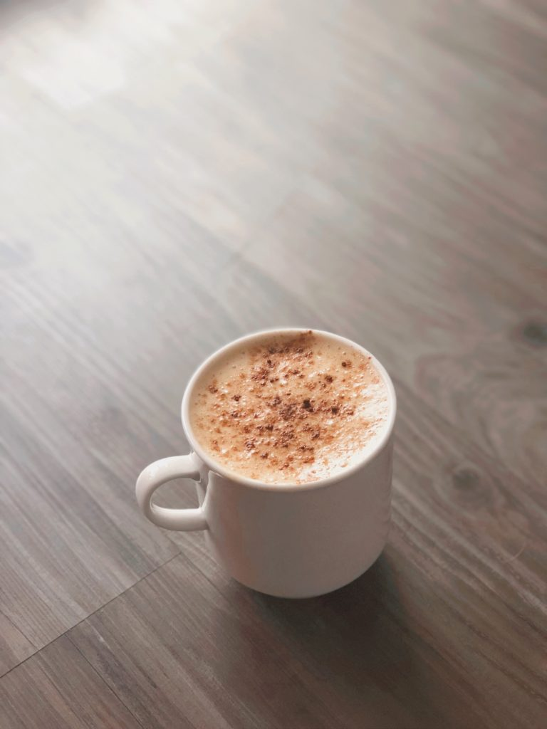 dairy free pumpkin spice coffee latte recipe