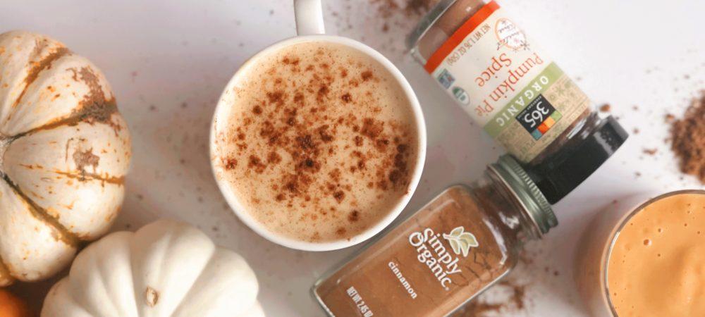 Better Than Starbucks Healthy Pumpkin Spice Latte
