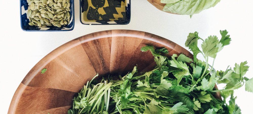 5 Minute Perfect Vegan Pesto