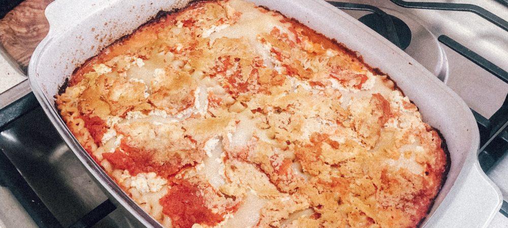 Vegan, No Boil, & Gluten Free Lasagna