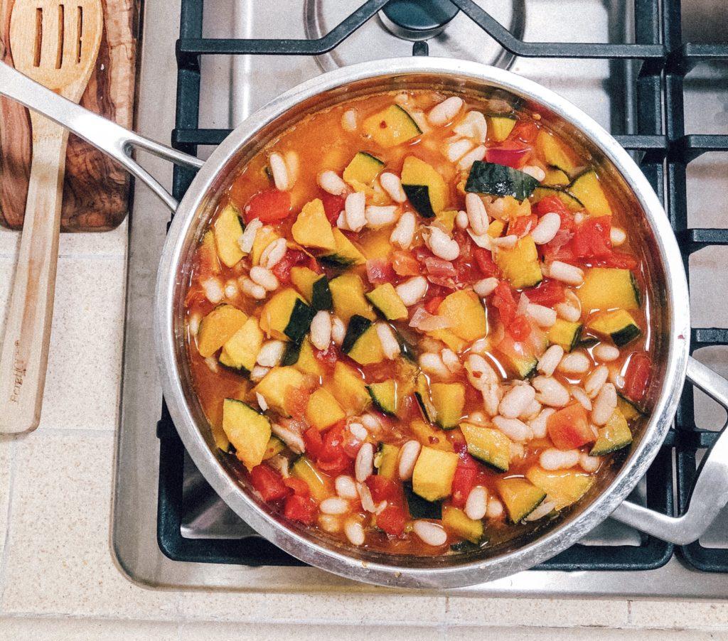 Vegan Kabocha Squash Chili