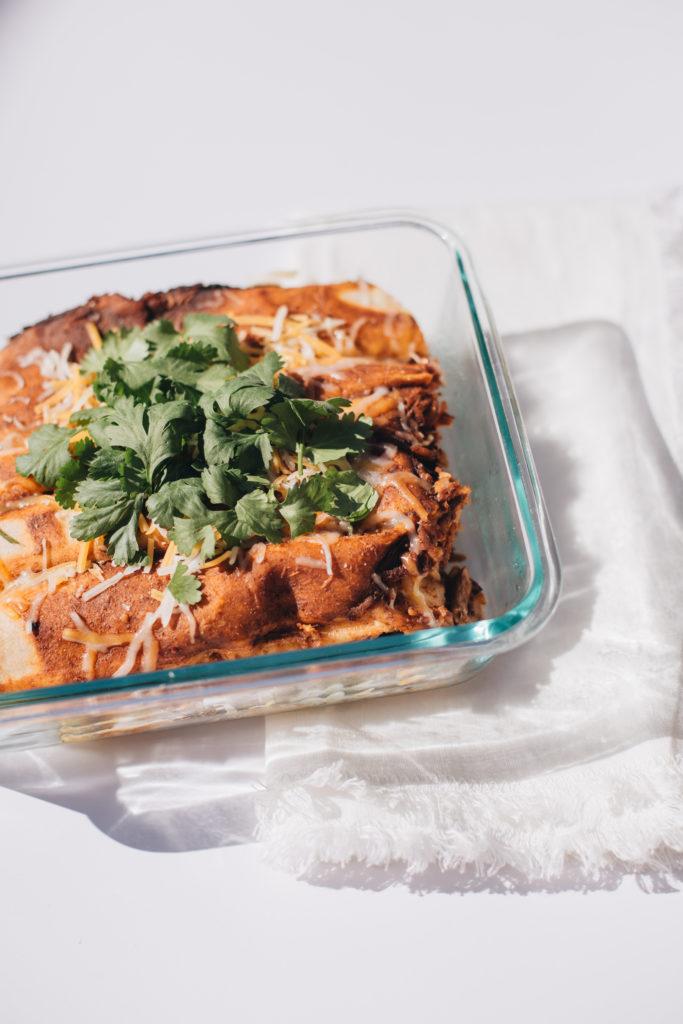 Vegan Siete Enchiladas