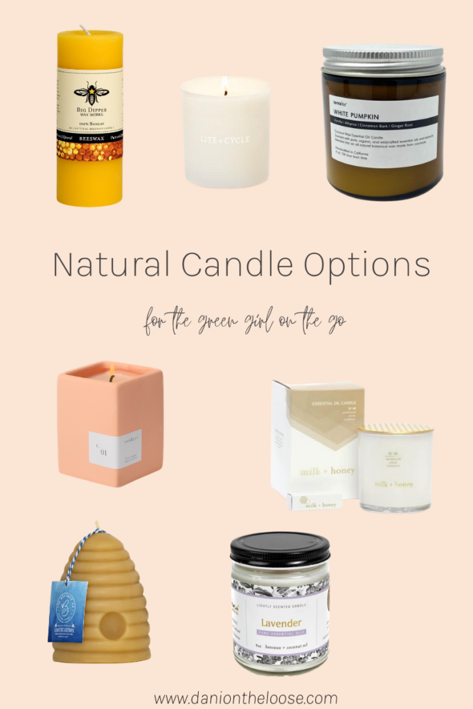 Are Candles Toxic? natural candle options